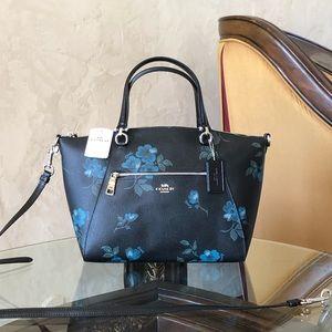 NWT Coach Prairie Vintage Floral Satchel Handbag
